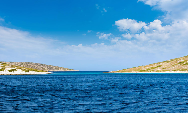 Arki Island near Patmos Greece - Daily Cruise to Surrounding Islands of Patmos Greece
